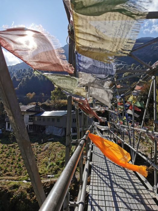 The prayer flags are just so pretty