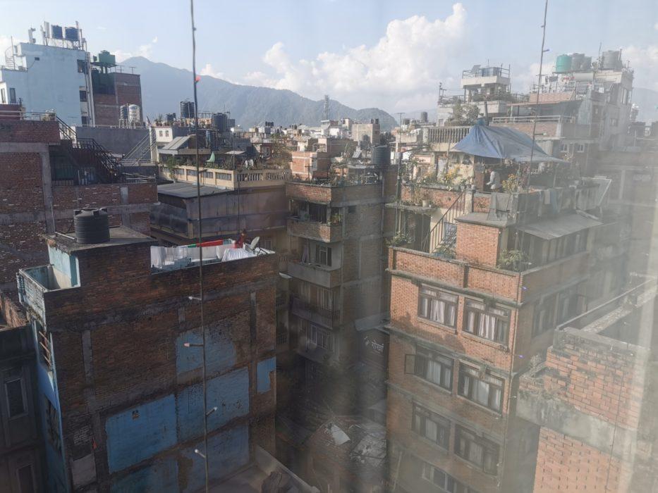 The view from my - glazed - window