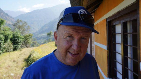 Glenn from the Juniper Trust at Rawa Dolu