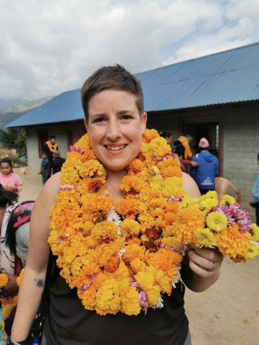 How many marigolds? Feeling like a princess.
