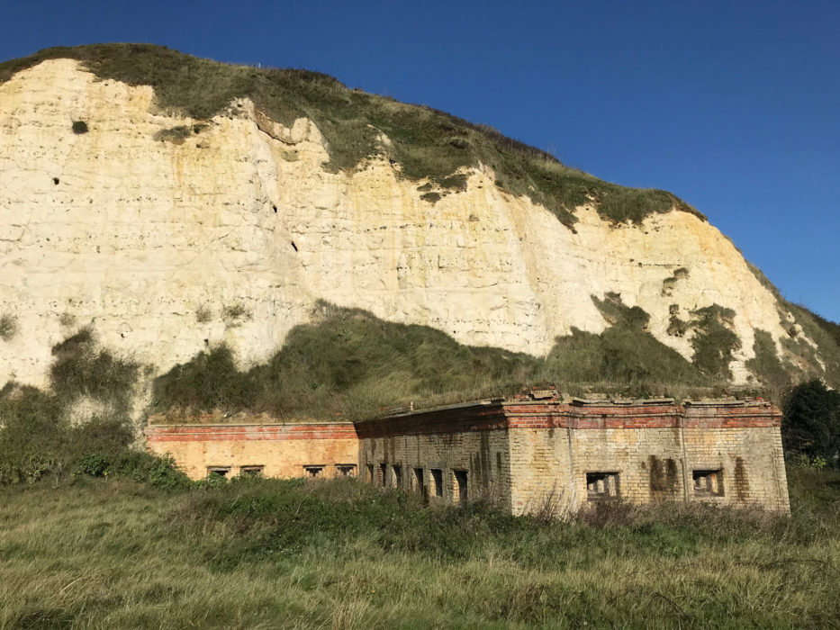 From West Pier Newhaven you can see military relics such as Newhaven Fort alongside Tidemills from across the quay