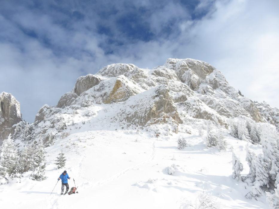 Piatra Mica in winter