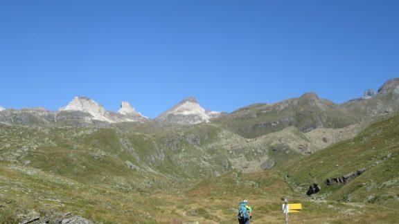 Cime Bianche and Matterhorn summit