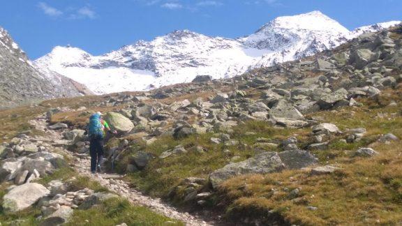 Towards Monte Moro