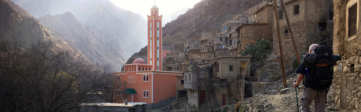 Berber village on route to Timichi TH