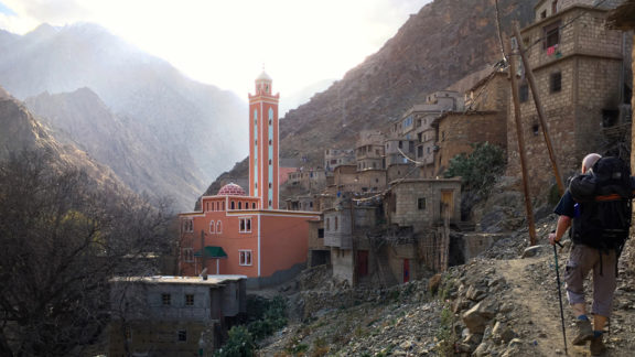 Berber village on route to Timichi TH