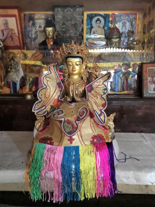 Deities in Ghunsa gompa