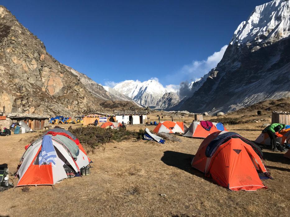 Lhonak Camp