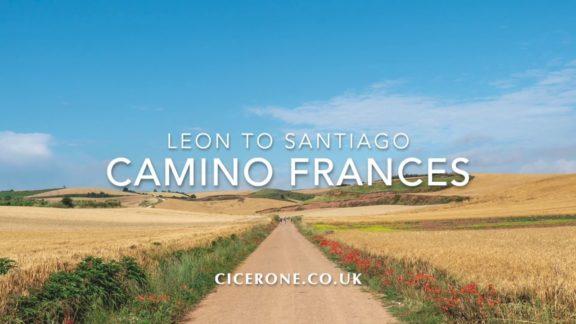 the Camino Francés from Leon to Santiago de Compostela.