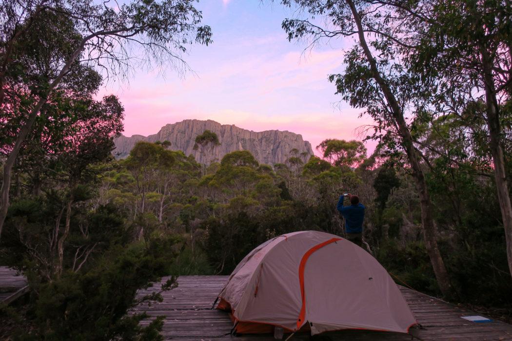 Camping platform