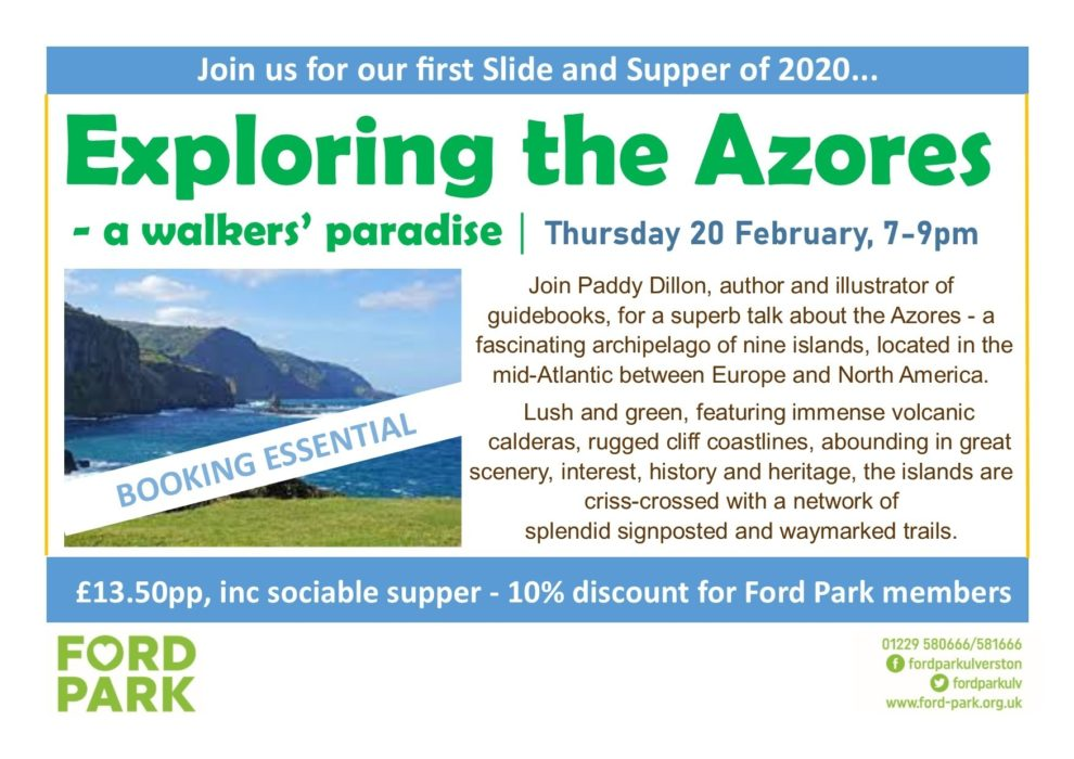 Slide and Supper Azores Feb 2020