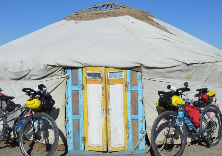 Why Kazakhstan, and why on a bicycle?