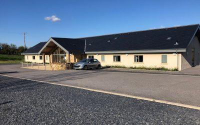 Bendrigg's new accommodation building