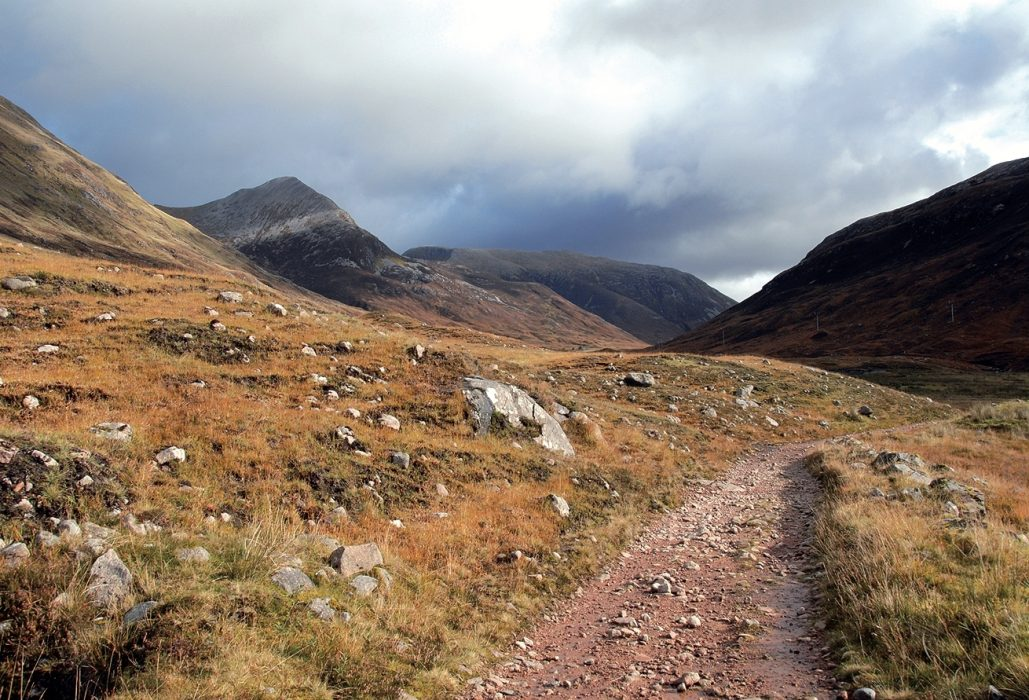 Lairig More. From Terry's guidebook to the West Highland Way