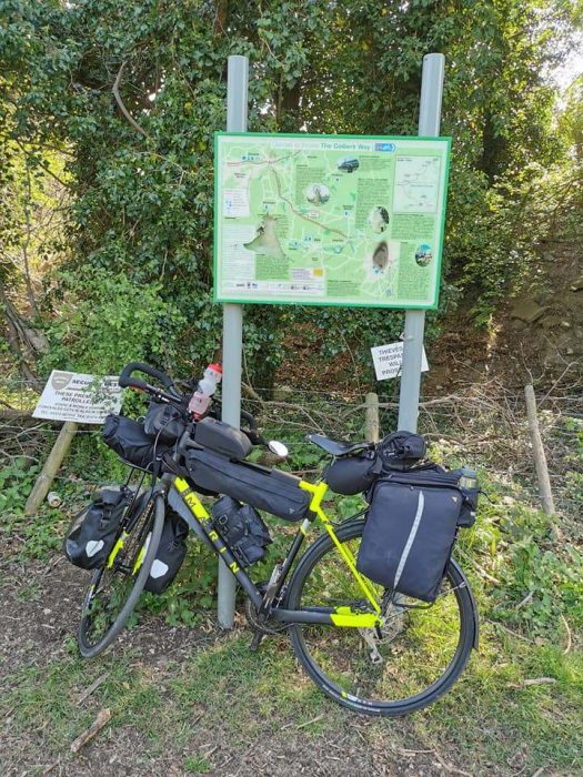Tristram's mini cycle tour