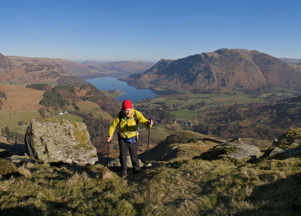Great – I've got a possible cover photo. St Sunday Crag, Lake District. Taken by tripod, how else?
