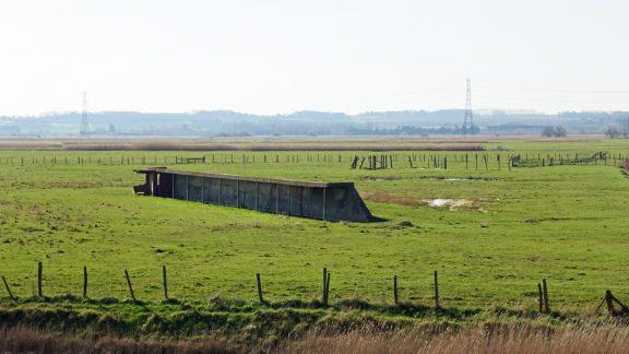 Remnant of old rifle range