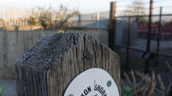 2 Saxon Shore Way marker