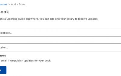 3) Complete the details there to add your book to your library.