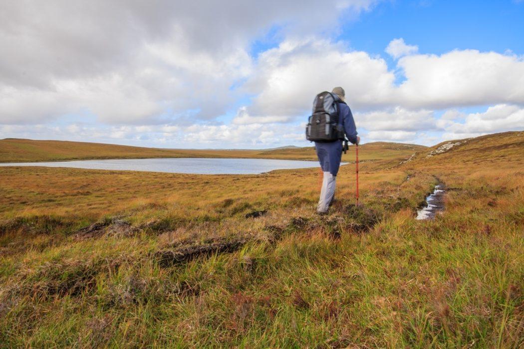 On Raised Turf Path Heading Towards Acha Mor