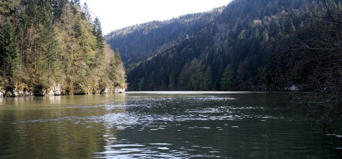 The Doubs Gorge Jura Gr5