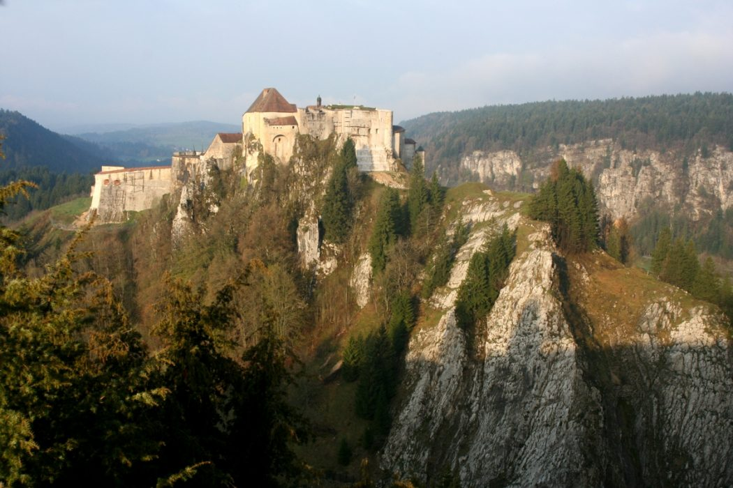 The Stronghold Of Joux Castle Jura Gr5