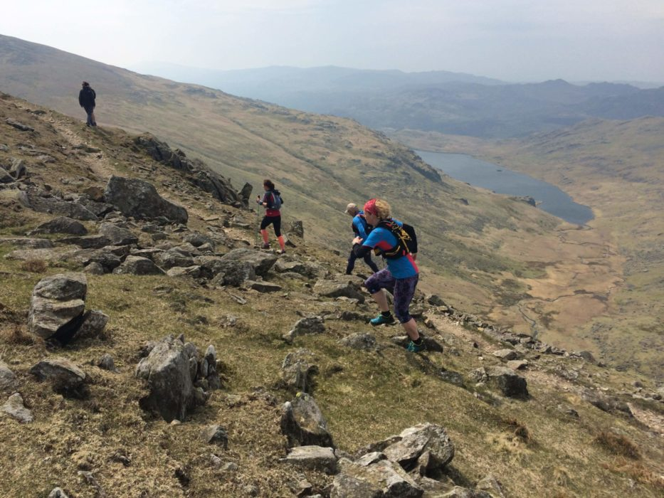 On The  Coniston  Fells  Lake  District