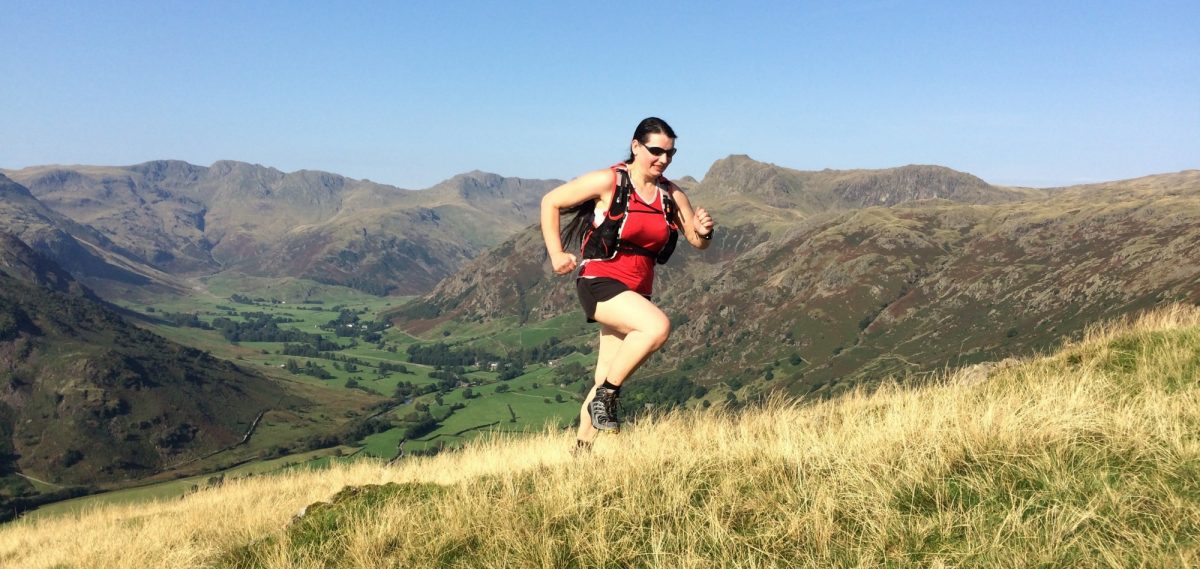 Running Above  Langdale