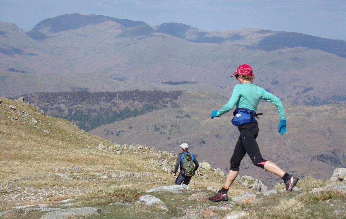 Ridge Running In The  Lake  District