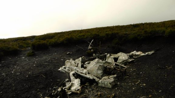 Remains Of The 1951  Consul Crash