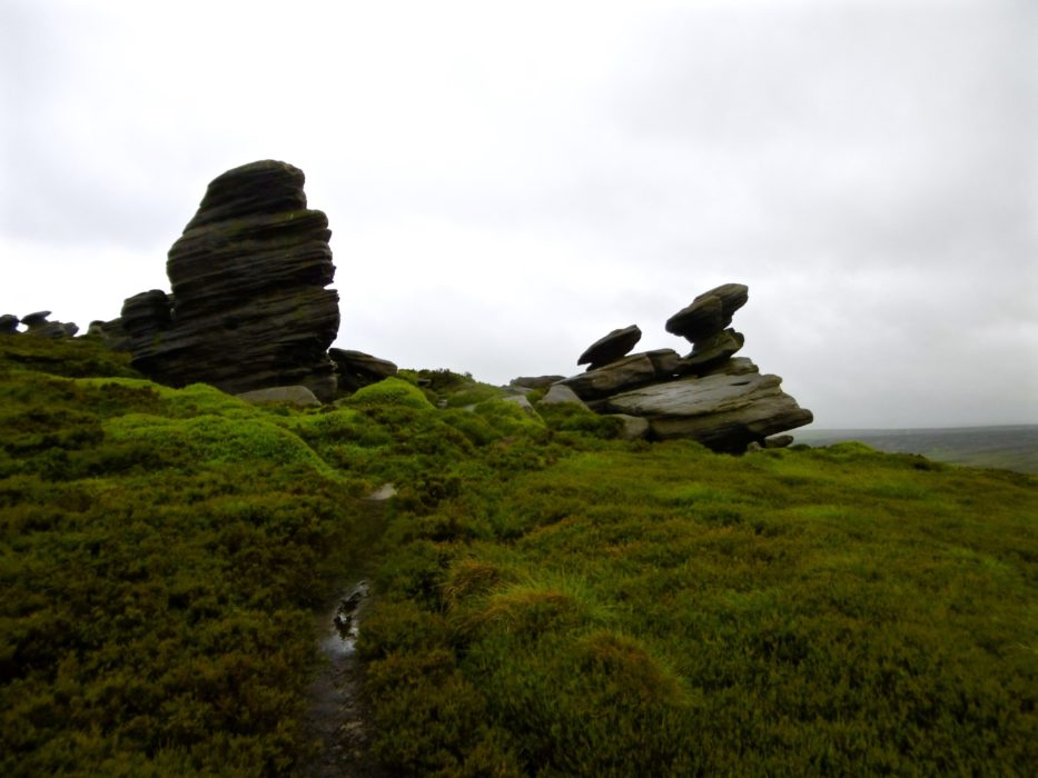 Crow  Edge And The  Rocking  Stone
