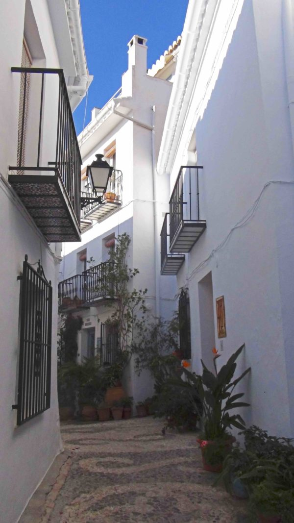 The Narrow Streets Of  Frigiliana