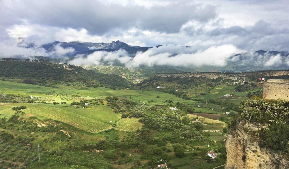 The Lush Countryside Around  Ronda