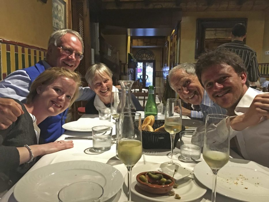 Birthday Celebration In  Ronda With The Family