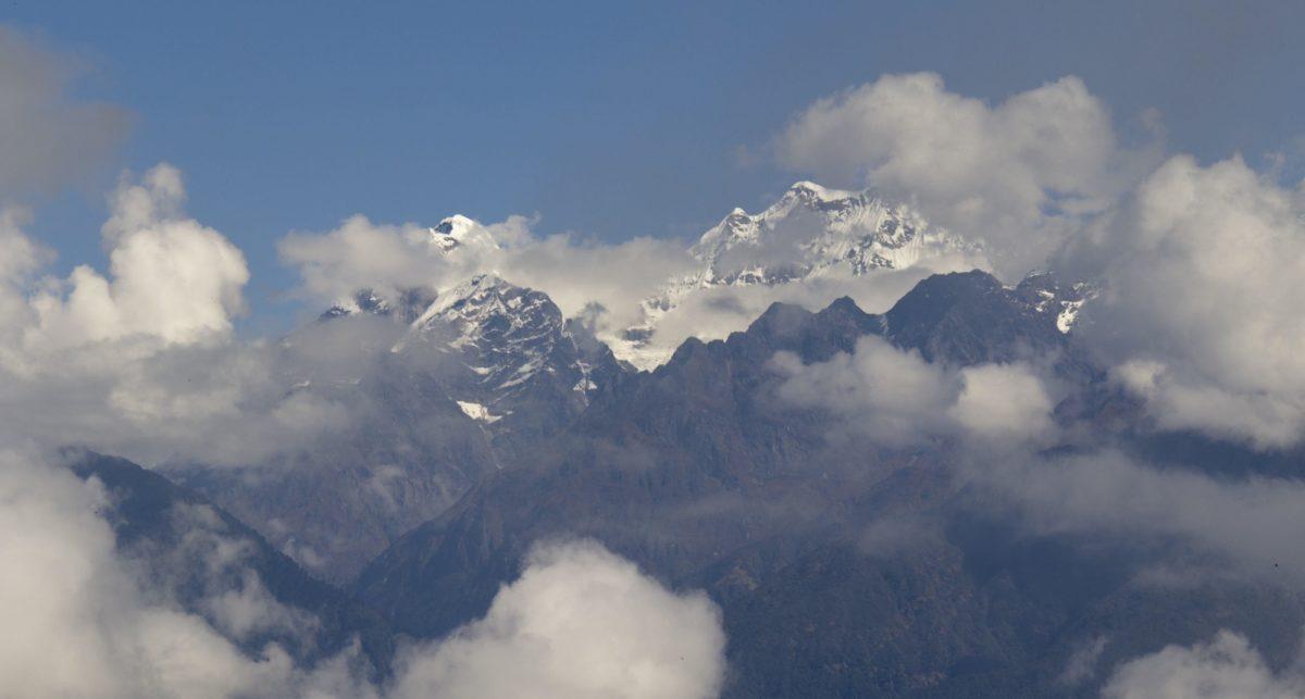 Mount  Mera From Above  Budidanda