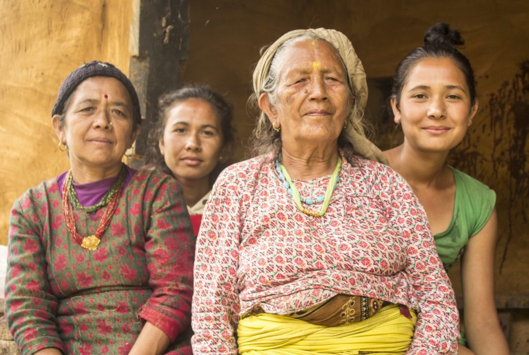 These Friendly  Nepali Women Kindly Allowed Me To Take Their Photograph