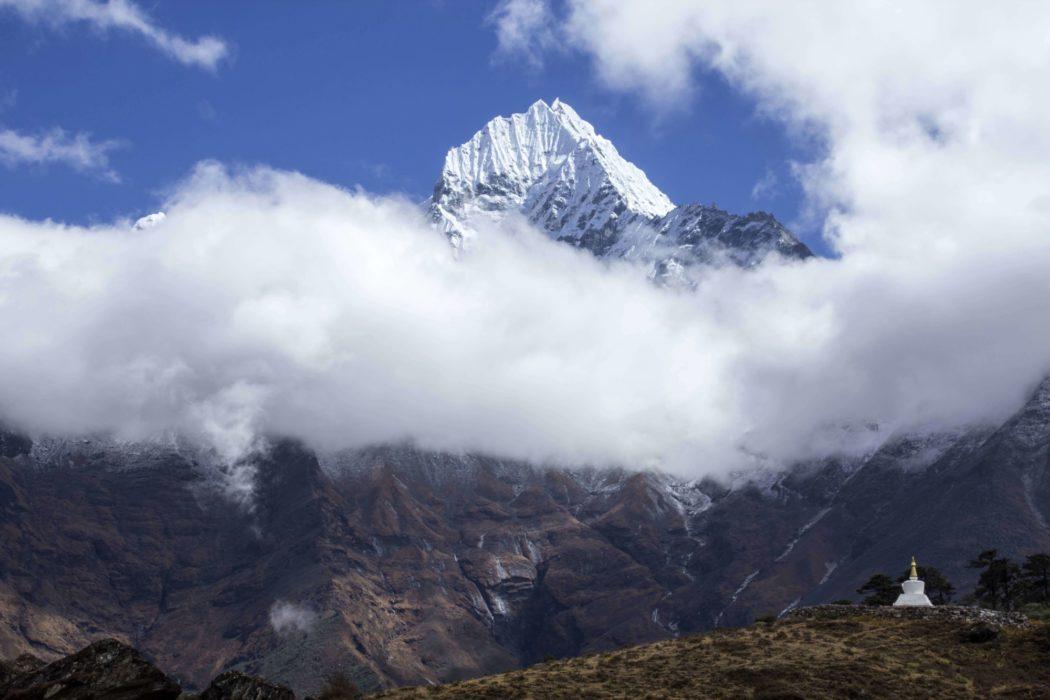 Thamserku From  Khumjung