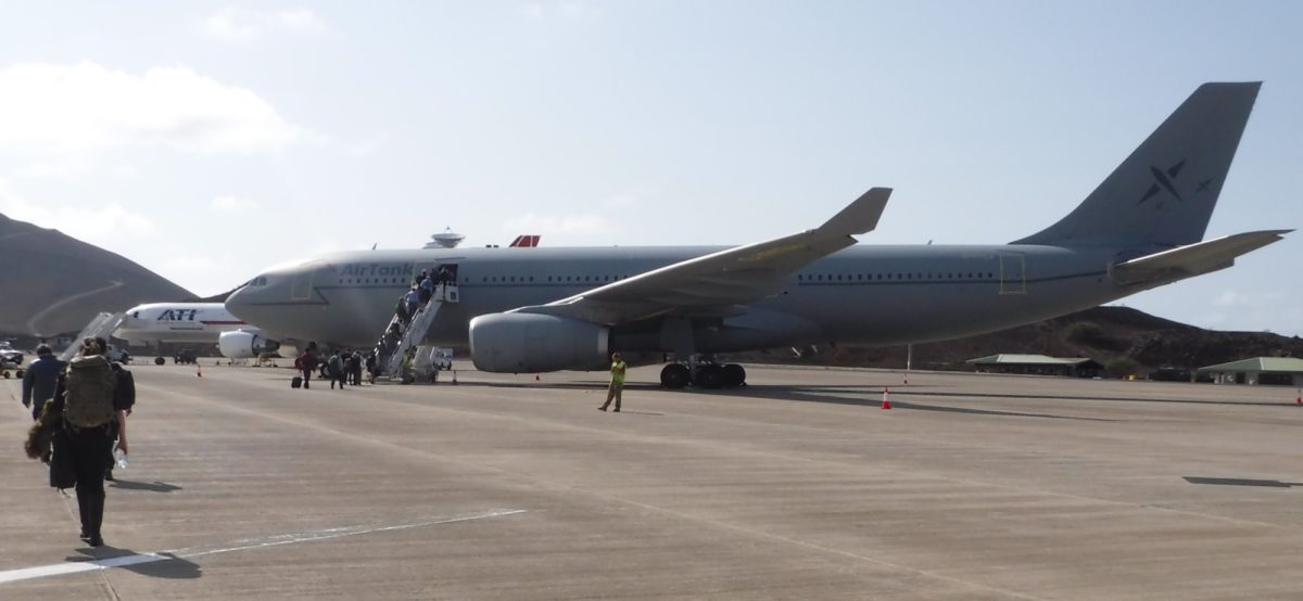 Twice Weekly Raf Flights Link Ascension Island With The Uk
