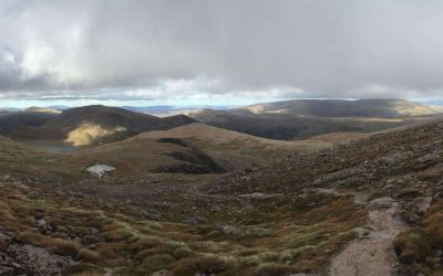 Backpacking In The  Cairngorms
