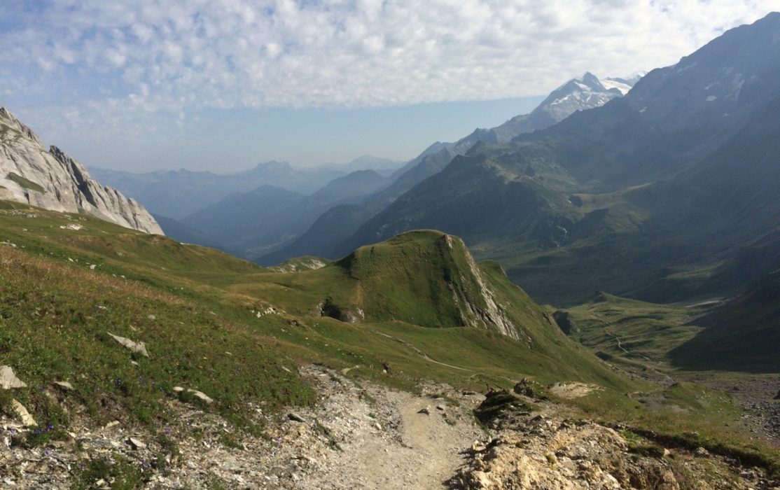The  Alps As Far As One Can See