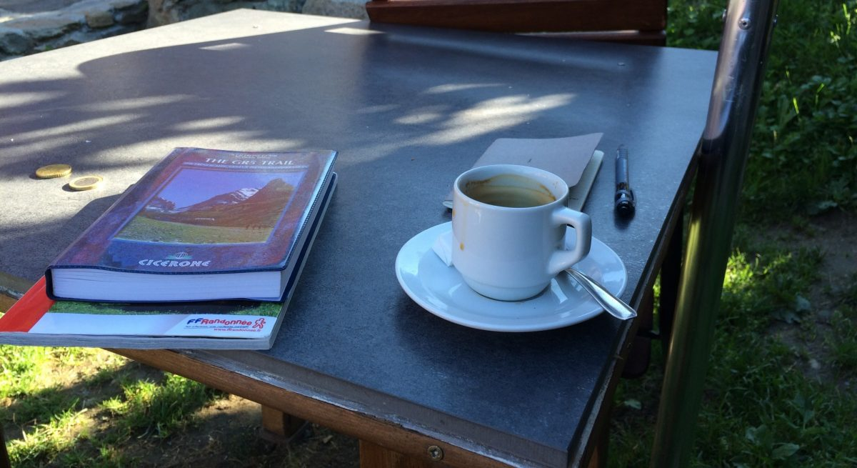 Morning Coffee As Motivation And  Paddy  Dillons  Gr5 Guide For Reference