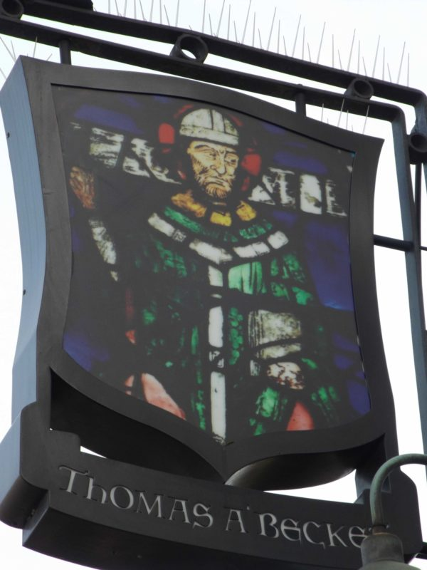 Becket Pub Sign In  Old  Kent  Road