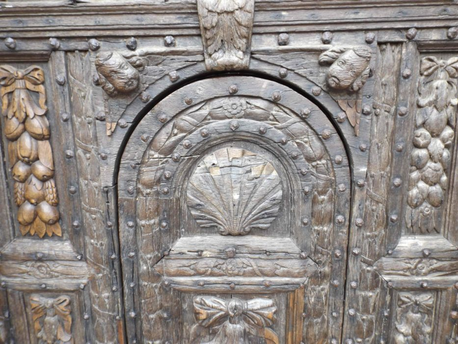 Pilgrim Door At  Canterbury