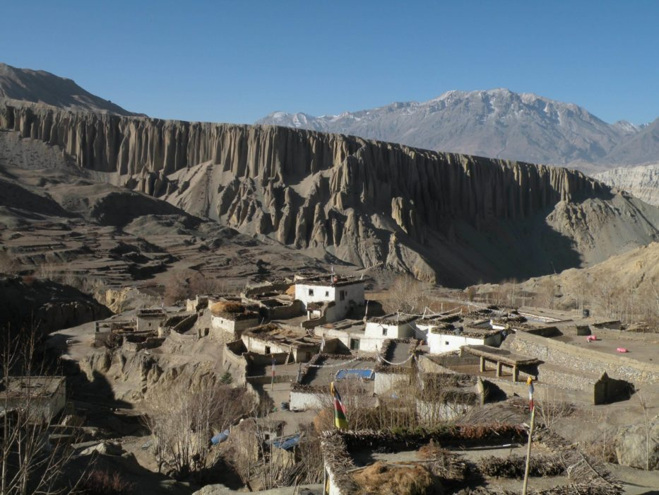 Mustang  Yara Village And Cliffs