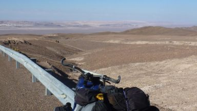 Taking It All In As  I Reach The  Atacama Desert