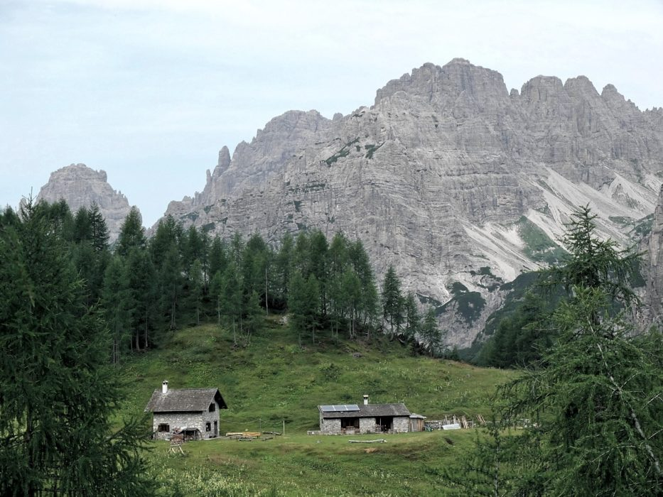 Casera  Valbinon In The  Italian  Dolomites
