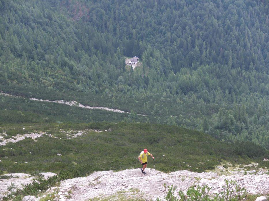 Rifugui  Giaf In The  Dolomites
