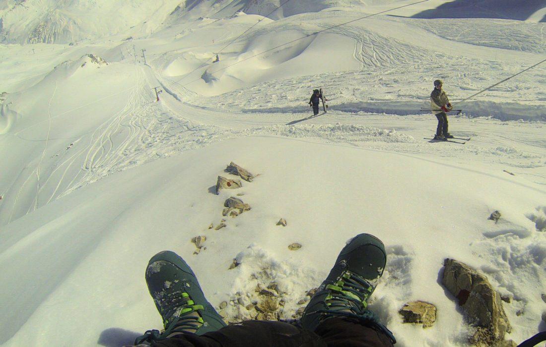 Drag Lift In The  Vanoise