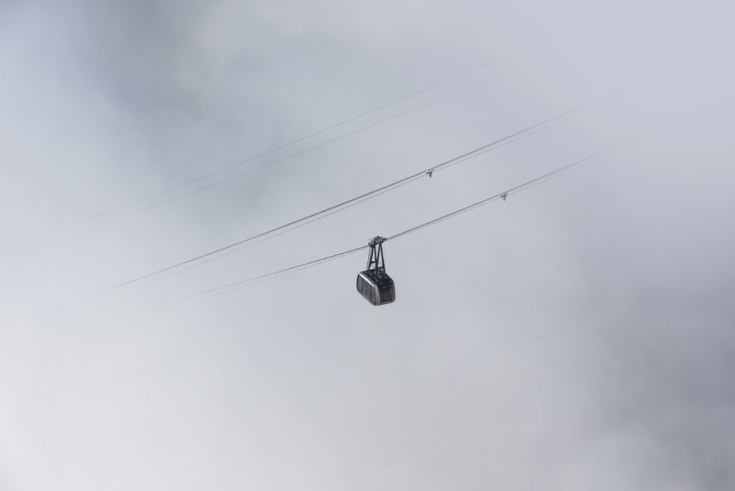 The  Pordoi Cablecar