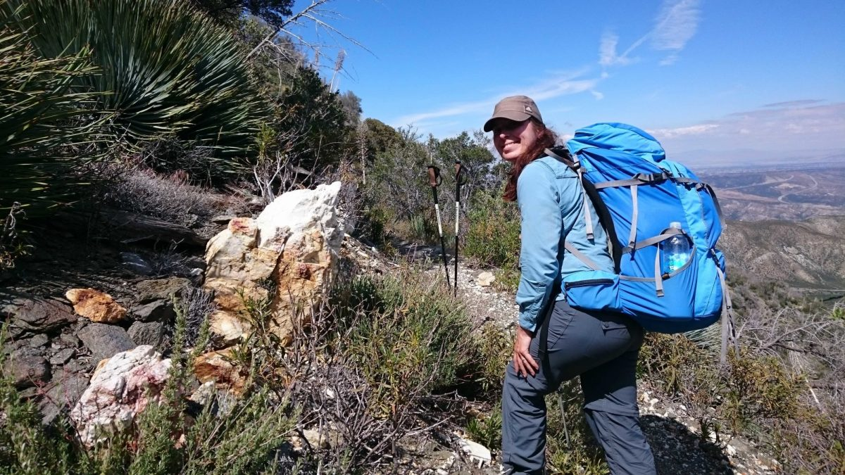 Lisa  In  The  San  Bernardino  Mountains  Pct